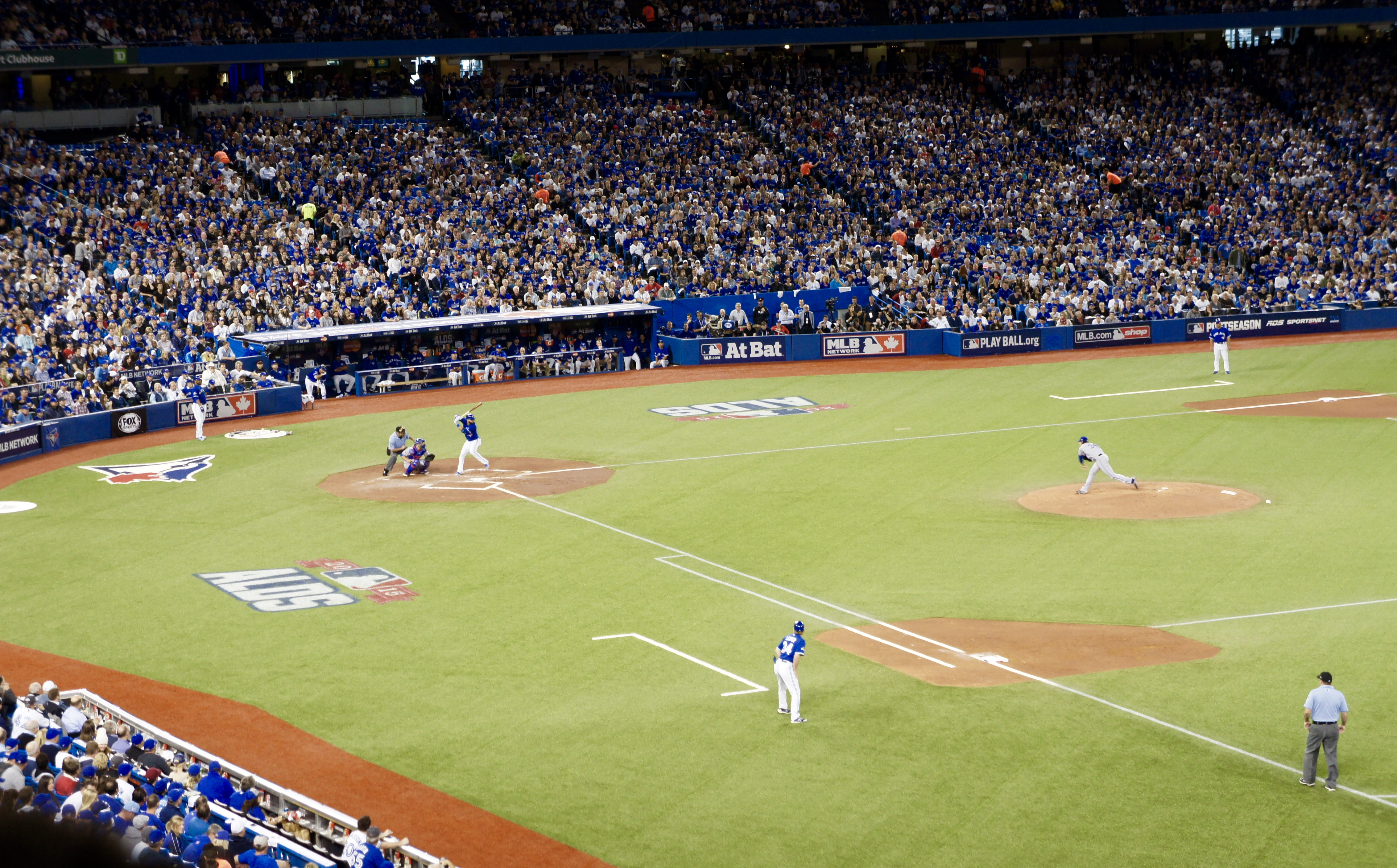 Blue Jays Clinch the ALDS October 14, 2015!